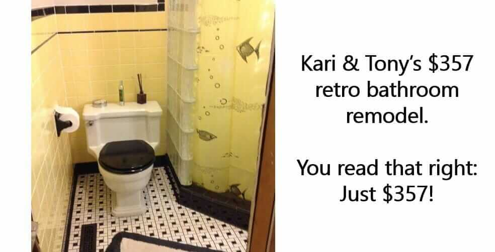save money on your bathroom remodel