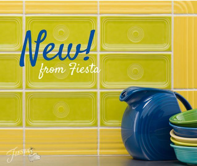 Fiestaware tile is now available for pre-order \u2014 4 designs 14 colors  sc 1 st  Retro Renovation & Fiestaware tile is now available for pre-order - 4 designs 14 ...