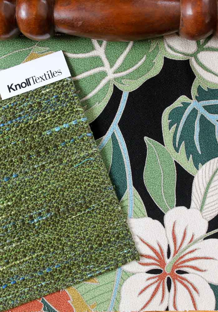 knoll rivington upholstery in green