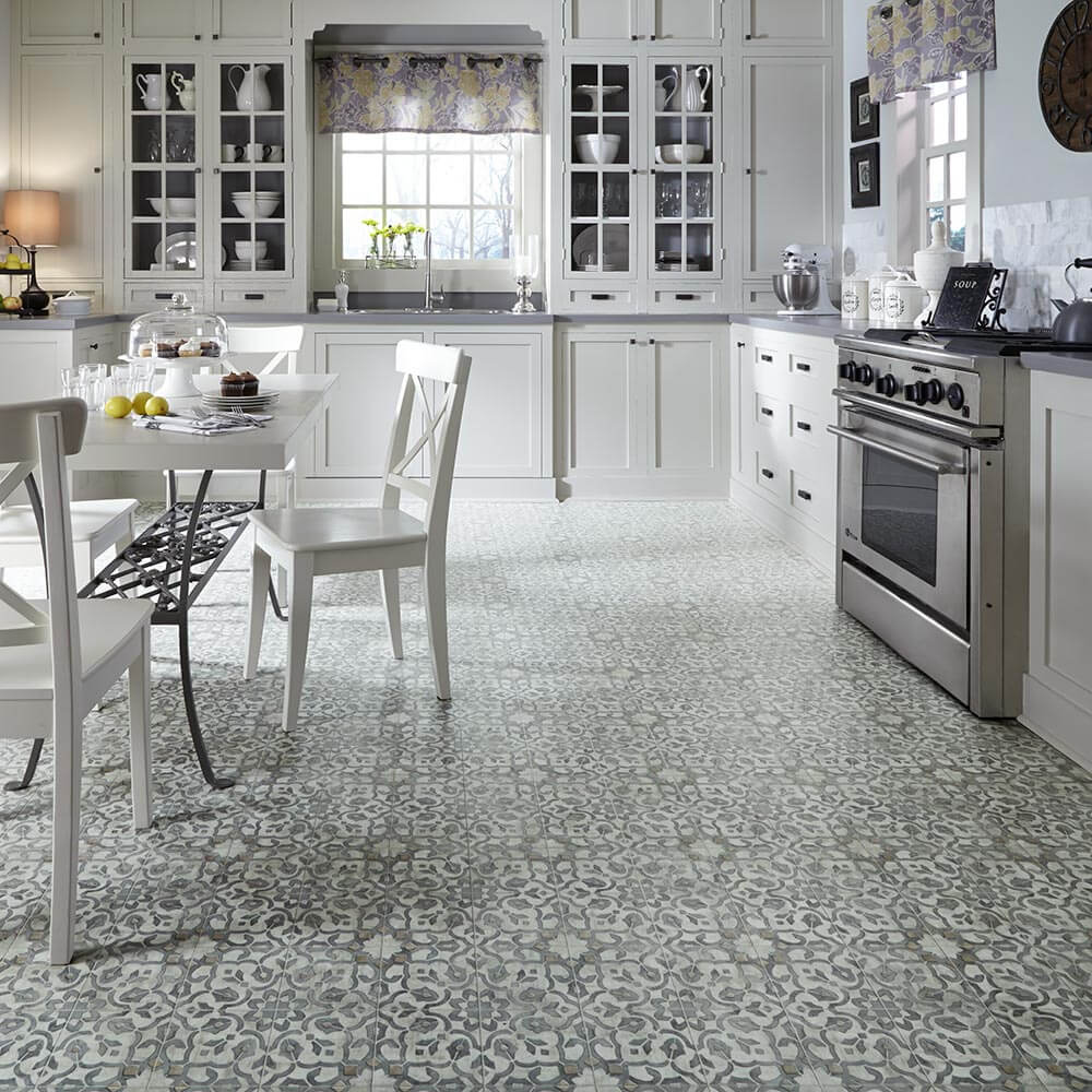 Flooring For A 1970s Kitchen Or Living Area: Moroccan