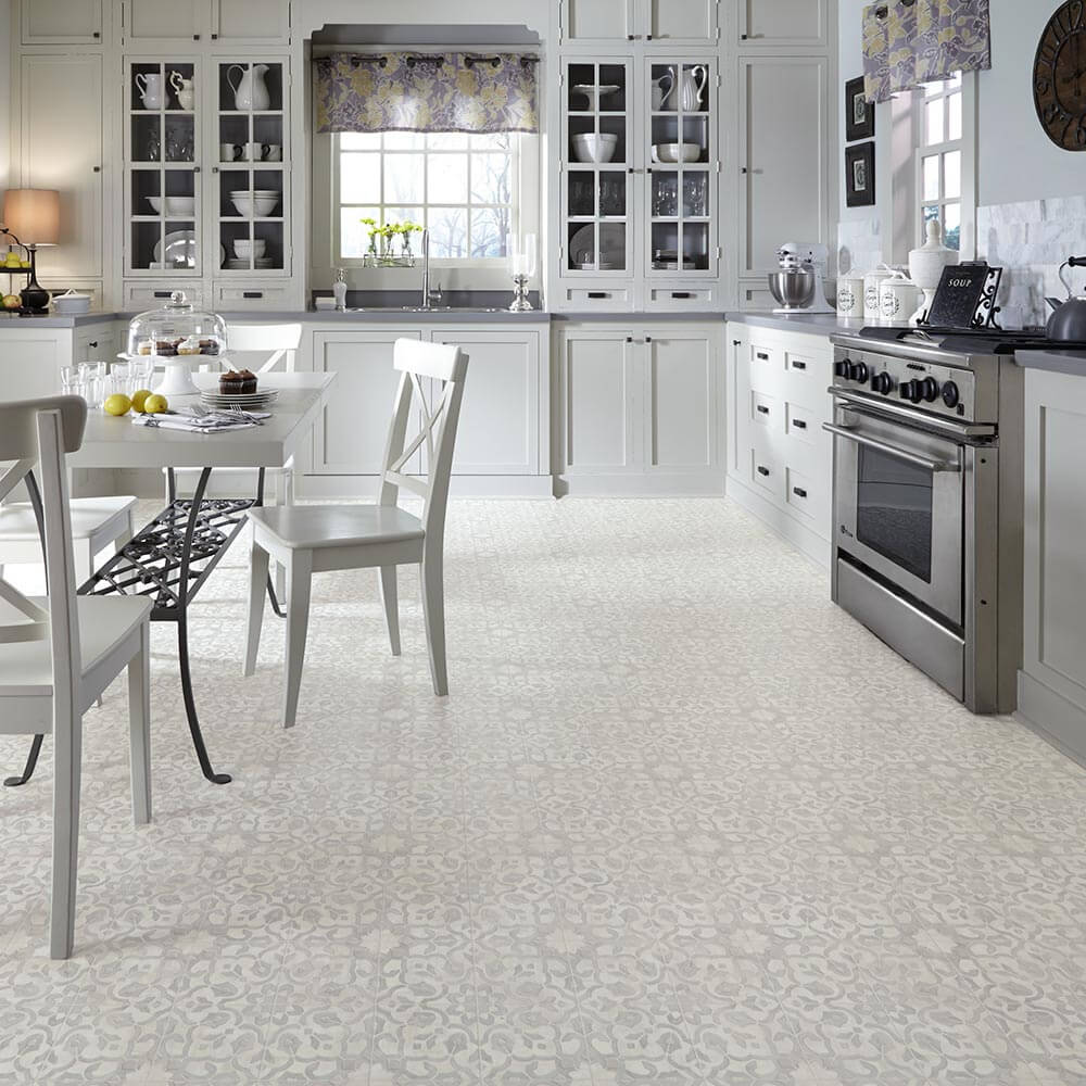 Flooring for a 1970s kitchen or living area: Moroccan-style Filigree ...