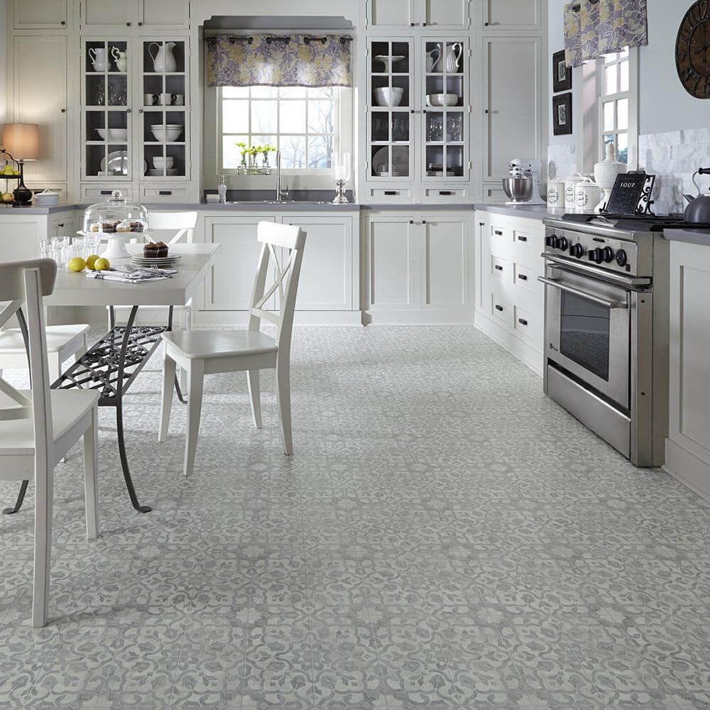 Nosing Around Flooring Websites For What S New I Spotted This Moroccan Style Filigree Luxury Vinyl Just Out From Mannington Note
