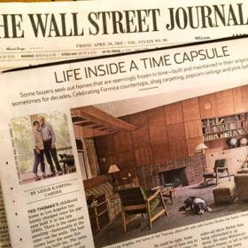 life inside a time capsule house