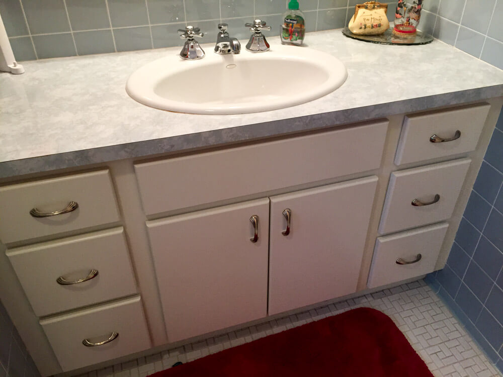 Superb All that said My original vanities were overlay so when I went to replace them I just went with the design that was there
