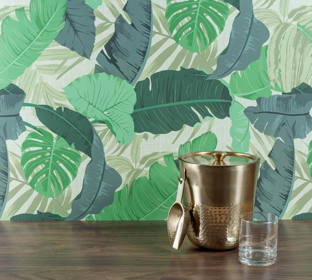 Tropical laminate from Wilsonart -