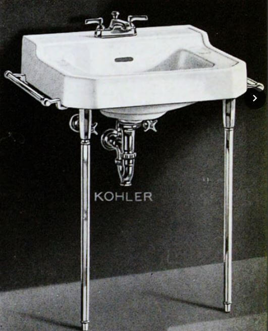 Fabulous  designs today don ut seem to be identical to the original Tritons u but I say Close enough See the original above See how the base of the faucet looks