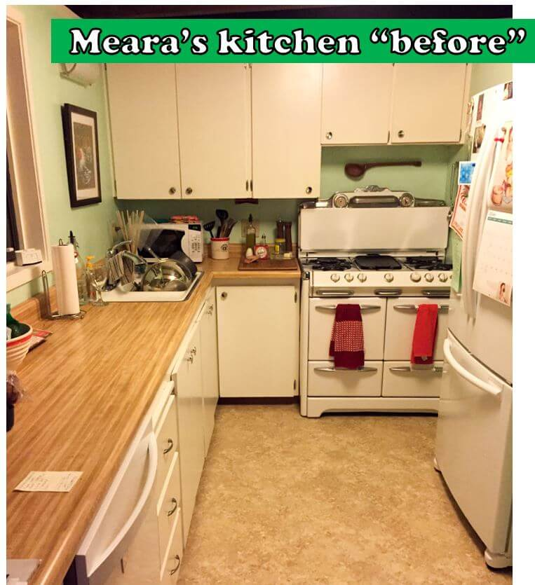 kitchen that needs remodeling