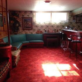 time capsule basement bar
