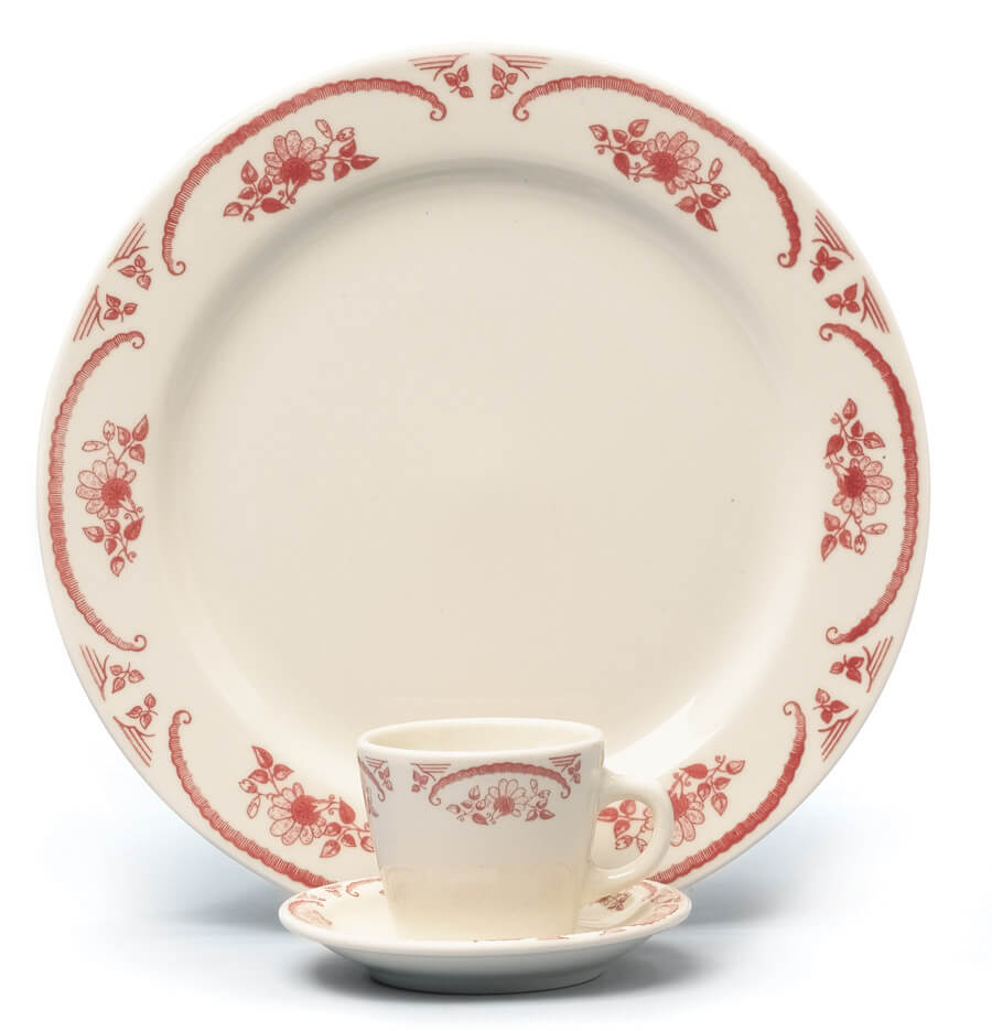 Homer Laughlin American Rose pattern