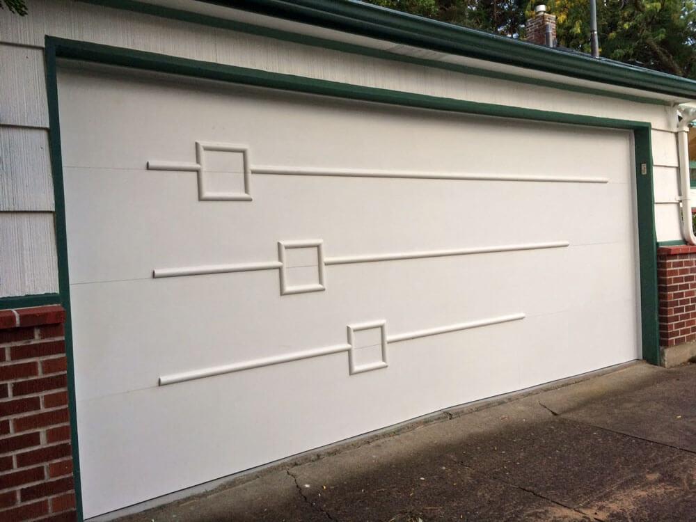 Garage Door Primed