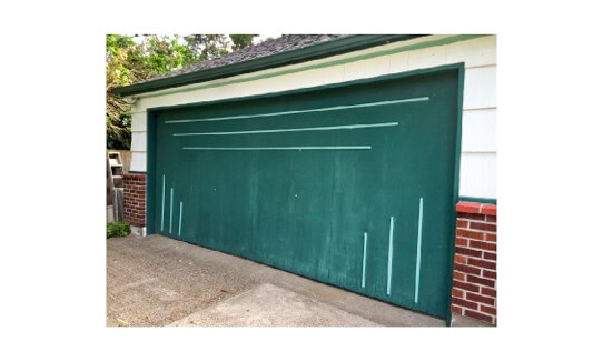 A Midcentury Modern Garage Door Made New For Nanette