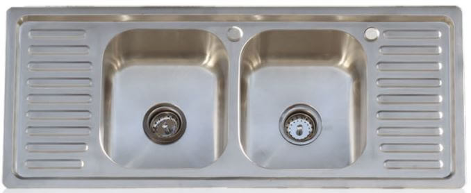 Drainboard Kitchen Sinks In Stainless Steel Three Designs From An All New Source Retro