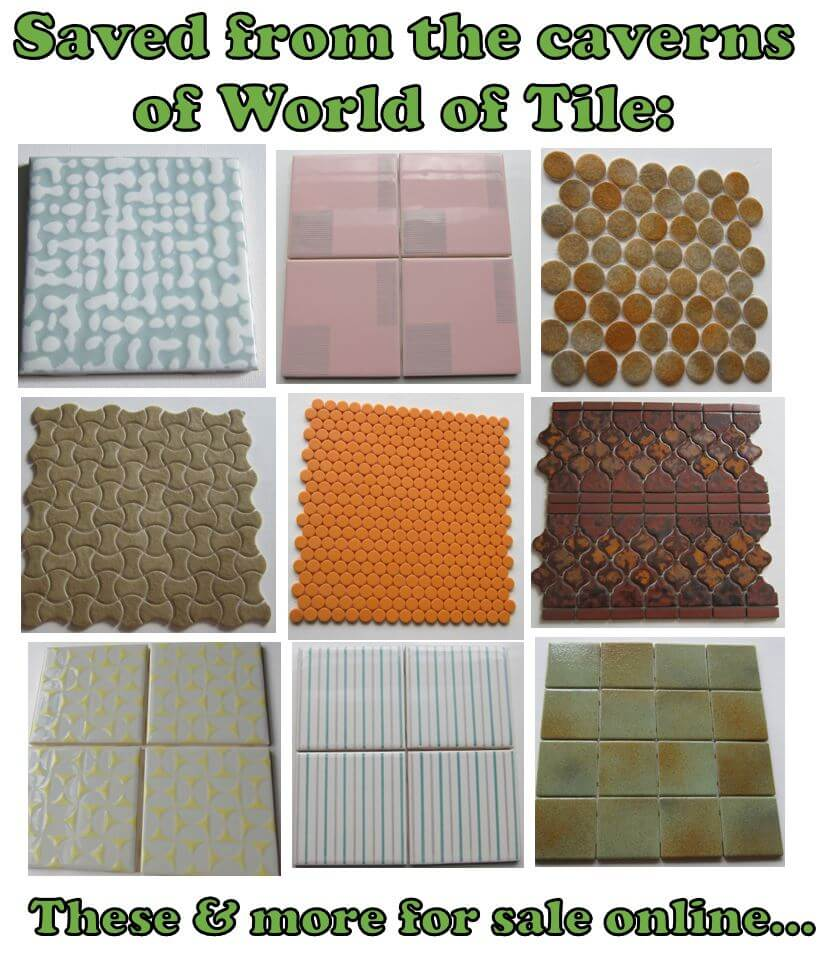 World of Tile vintage tiles - salvaged and available for sale ...