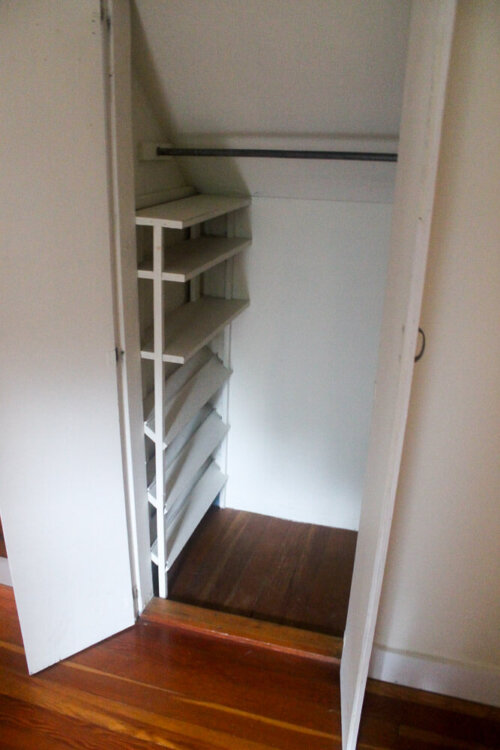 Diy Shoe And Sweater Storage Idea For Small Closets