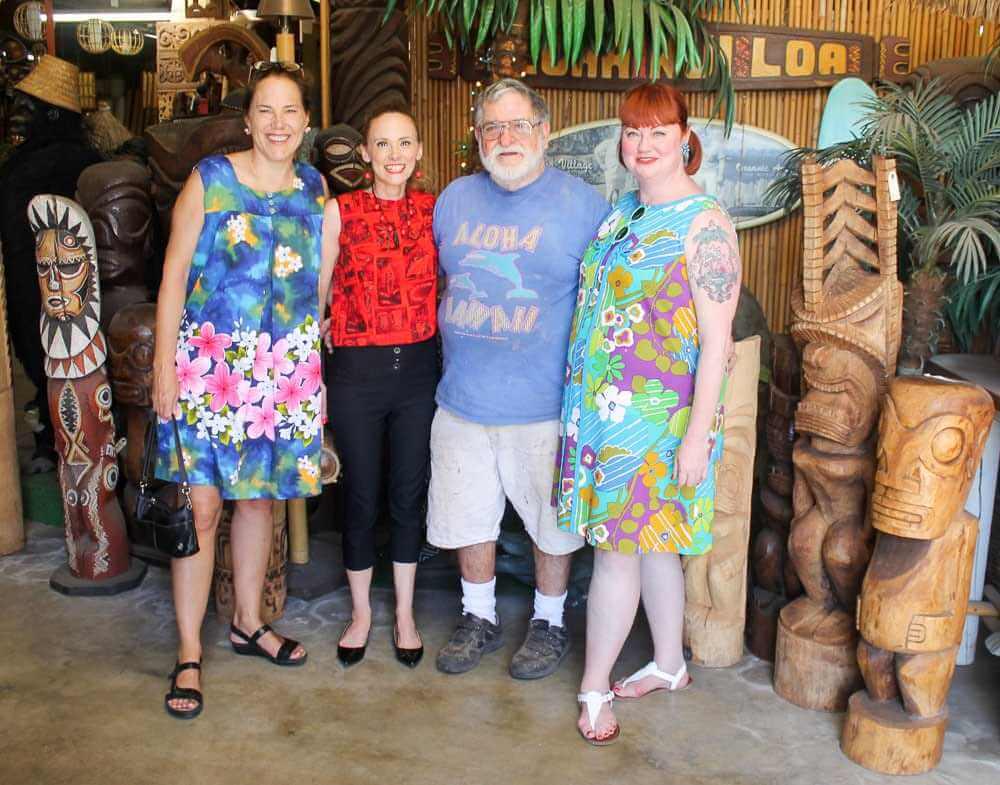 Tiki Kiliki, Humuhumu with Leroy at Oceanic Arts