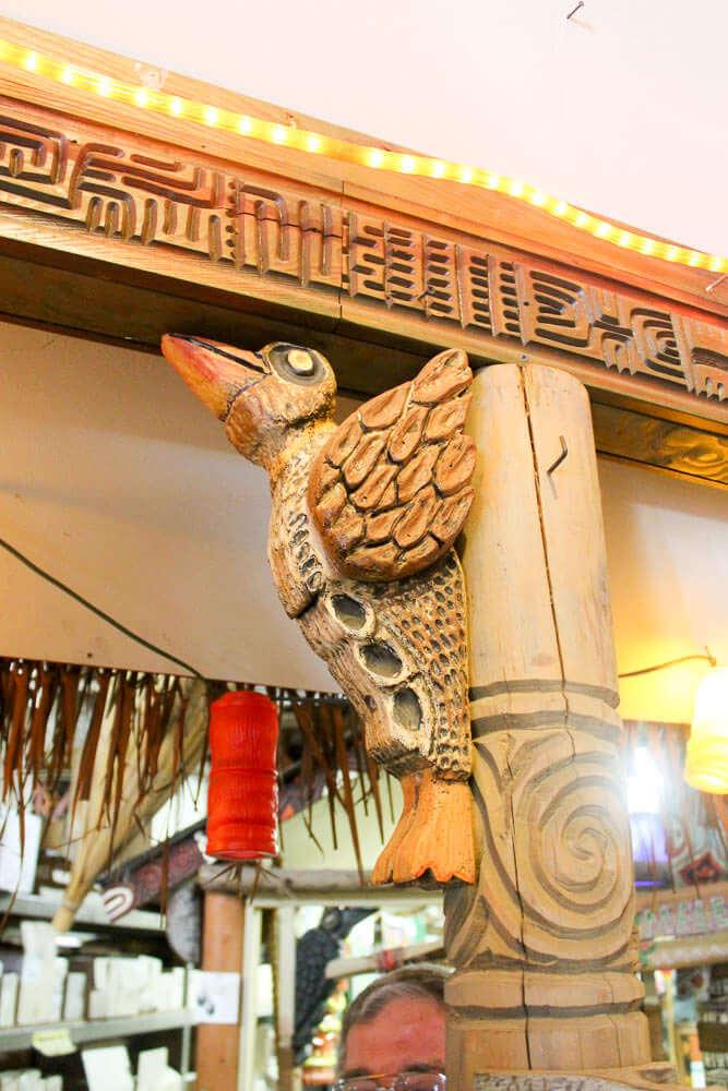 bird wood carving by LeRoy Schmaltz