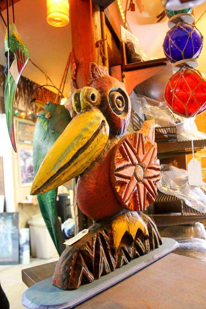 Bird carving by Leroy Schmaltz