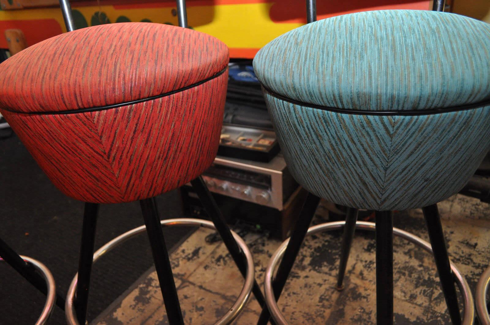 Six Gorgeous Vintage Bar Stools Color Color Give Us