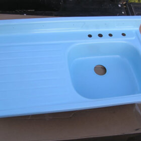kitchen drainboard sink