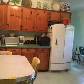 vintage refrigerator in constant use since 1941