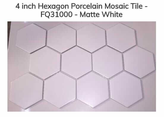 Is 4 White Hexagon Tile Specified For Floors The Most Timeless Modern Bathroom Floor Ever I Declare Yes It And S Not Easy To Find Today