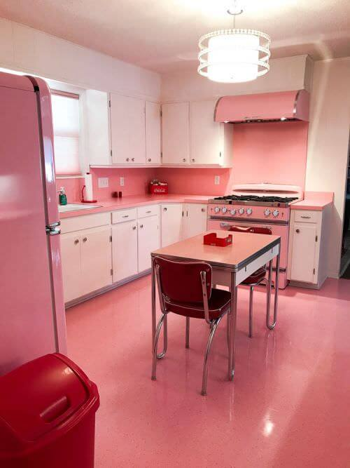 Elizabeth\'s 1965 kitchen before and after - from gloomy ... to ...