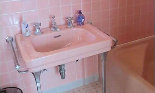 Where To Find A Vintage Bathroom Sink With Chrome Legs And