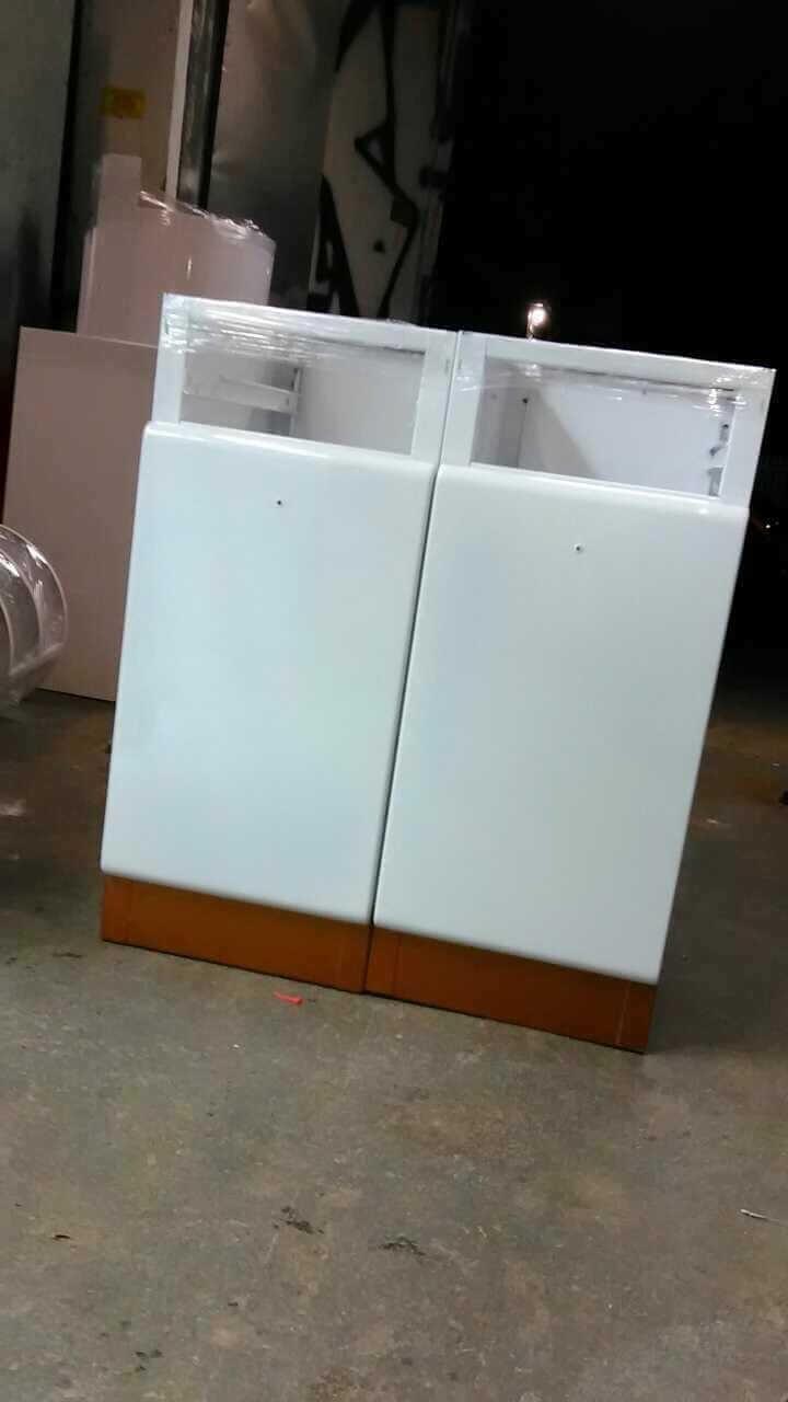 restored steel kitchen cabinets