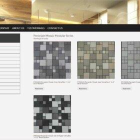 random block mosaic floor