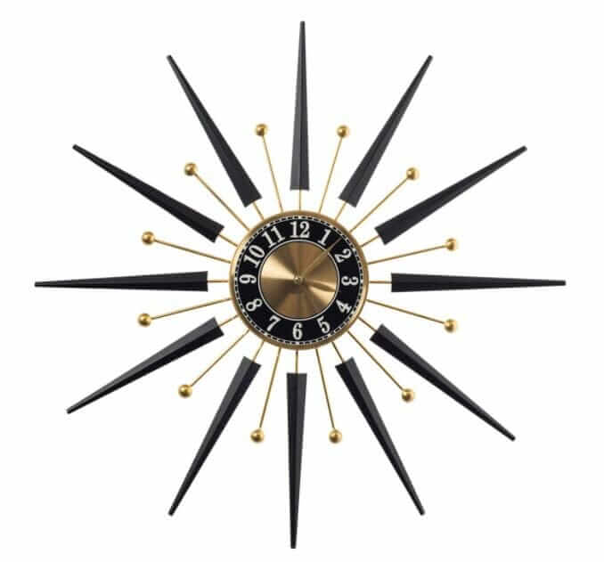 starburst wall clock from cracker barrel