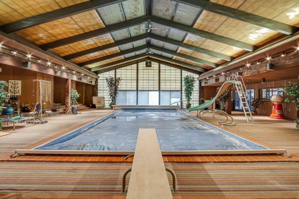 1970s indoor swimming pool