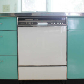 vintage kitchenaid dishwasher