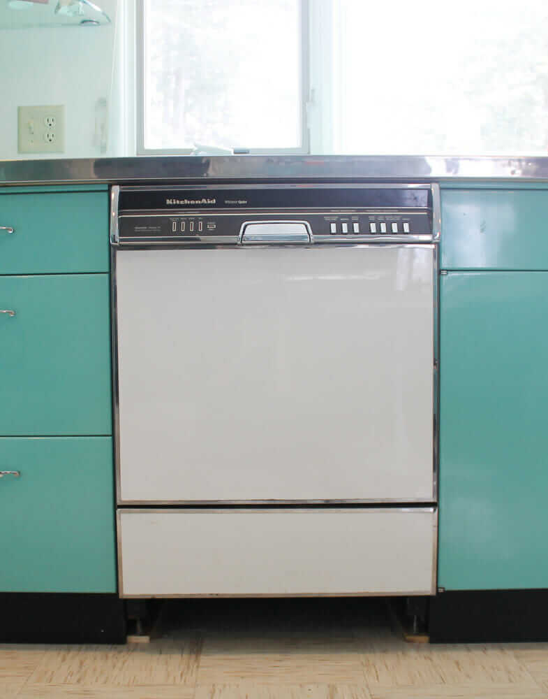 My vintage KDS-21 Kitchenaid dishwasher: 3 steps forward, 2 ...