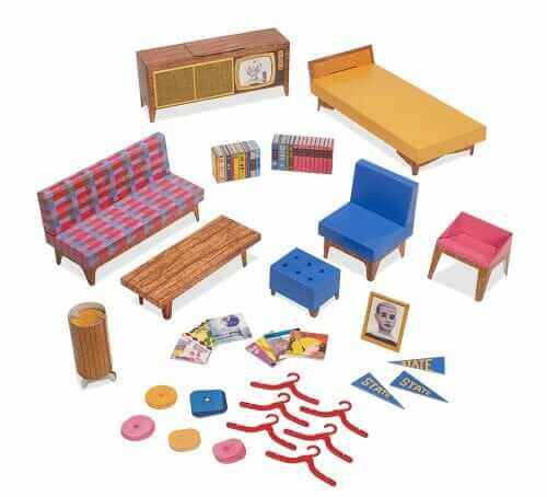 The 1962 Dream House Is A Cardboard Marvel Genius Product. It Is Completely  Self Contained And Portableu2026. It Includes U201cSlim Lineu201d Midcentury Modern ...