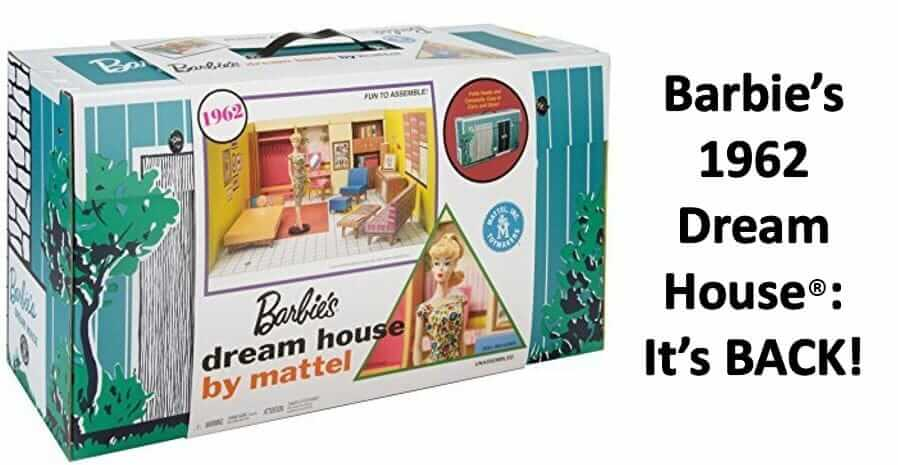 Mattel Reintroduces Barbie S 1962 Dream House Including A Barbie