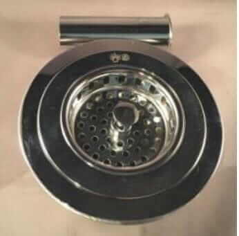 large kitchen drain sink strainer