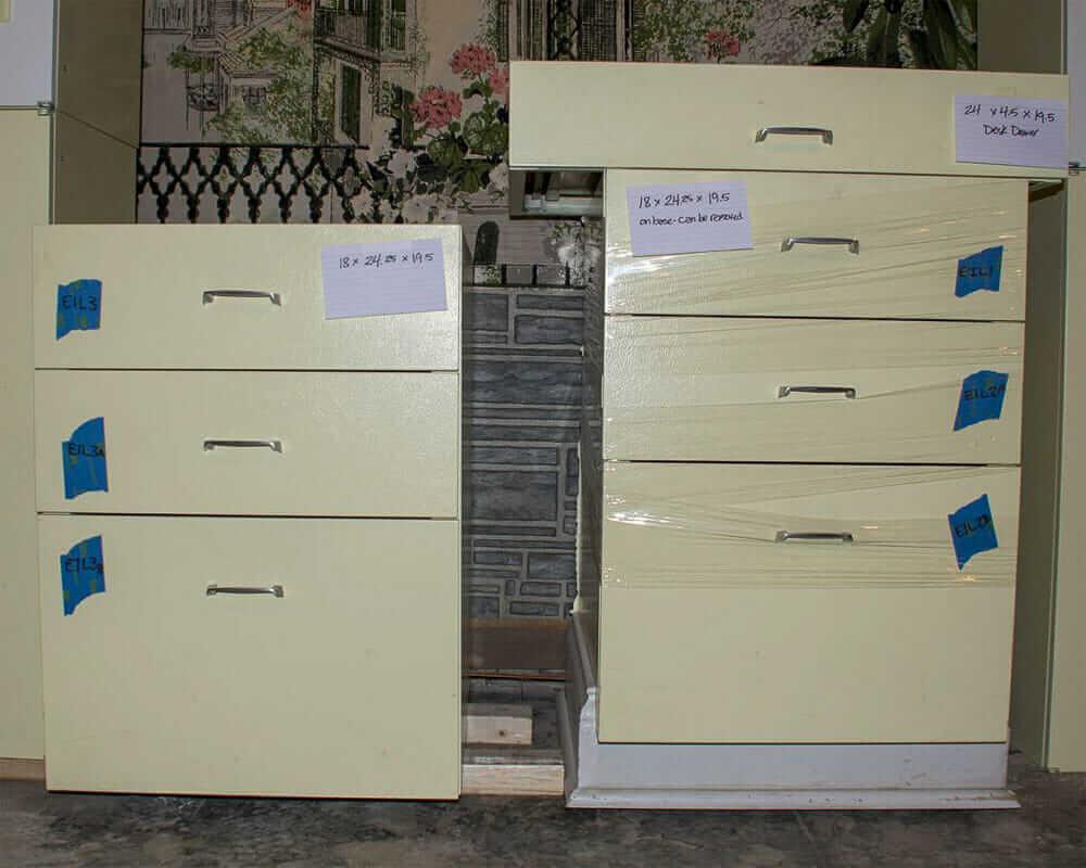 steel kitchen cabinet drawers