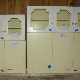 yellow st charles kitchen cabinet
