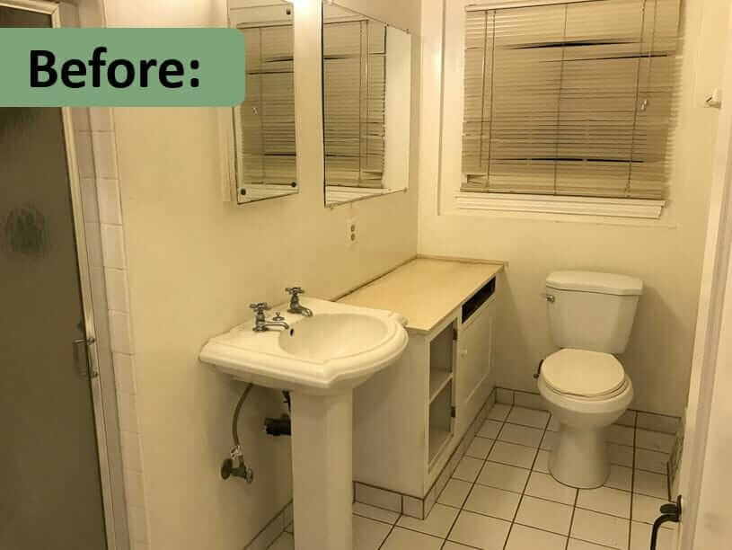 Creating A Bathroom From Scratch Graham And Monika Tackle - Is it hard to remodel a bathroom