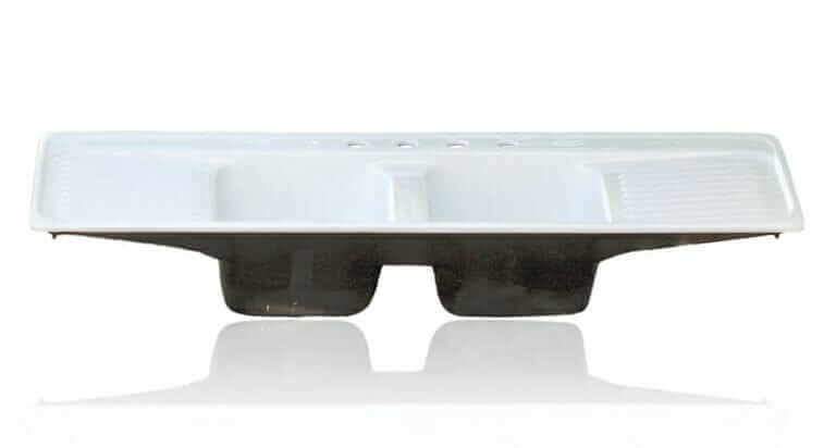double drainboard kitchen sink from ready to re