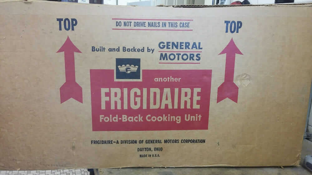 vintage frigidaire stove