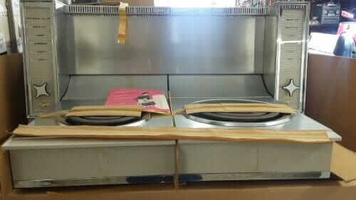 frigidaire fold down stove