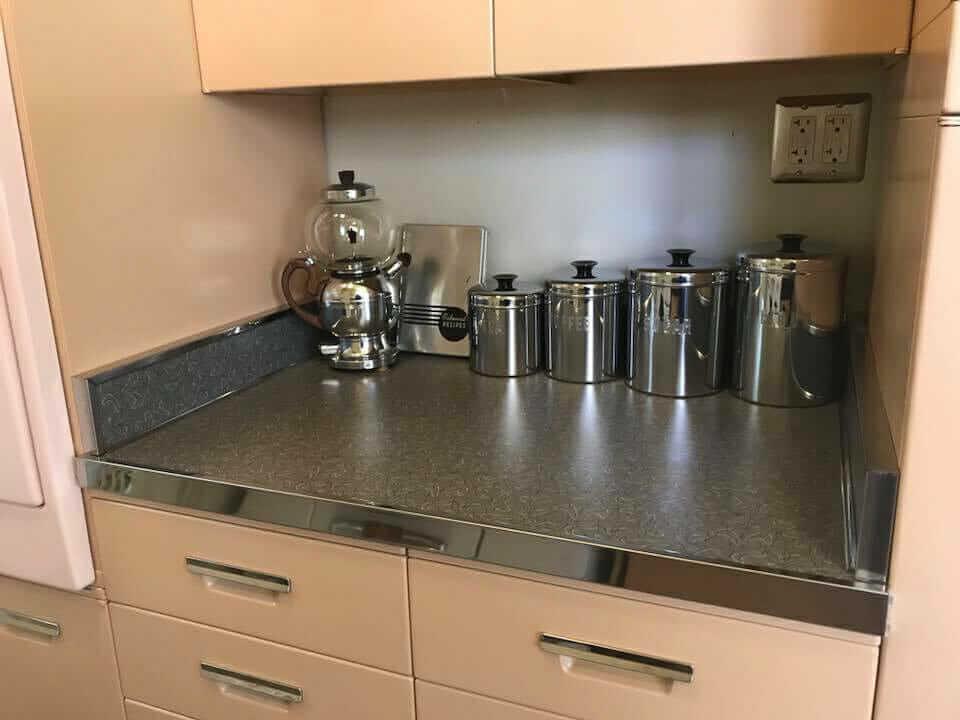 storage nook in kitchen