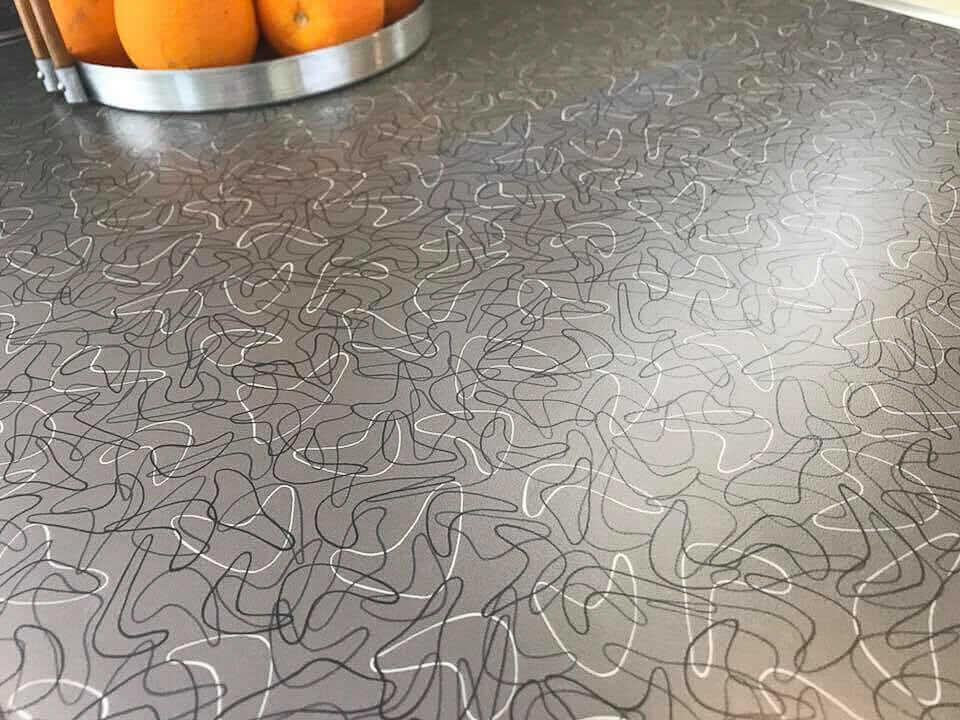 formica charcoal boomerang laminate