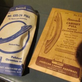 vintage amerock cabient pulls