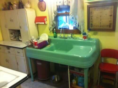 captivating antique kitchen sinks drainboard | 150+ vintage drainboard kitchen sinks - original finish ...
