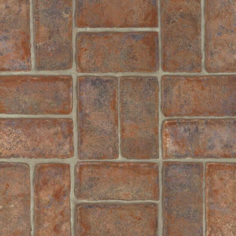 Brick Flooring In Vinyl Retro