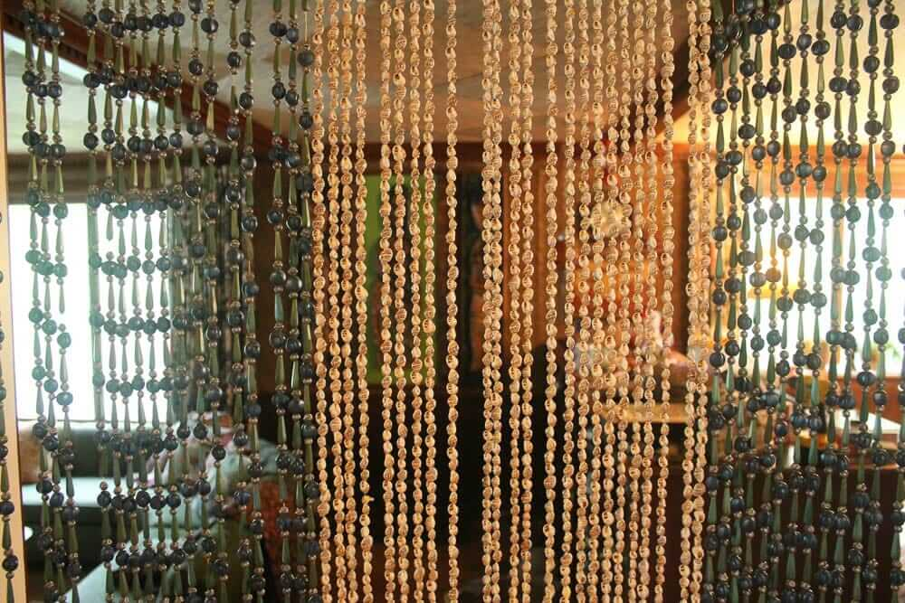 vintage beaded curtains