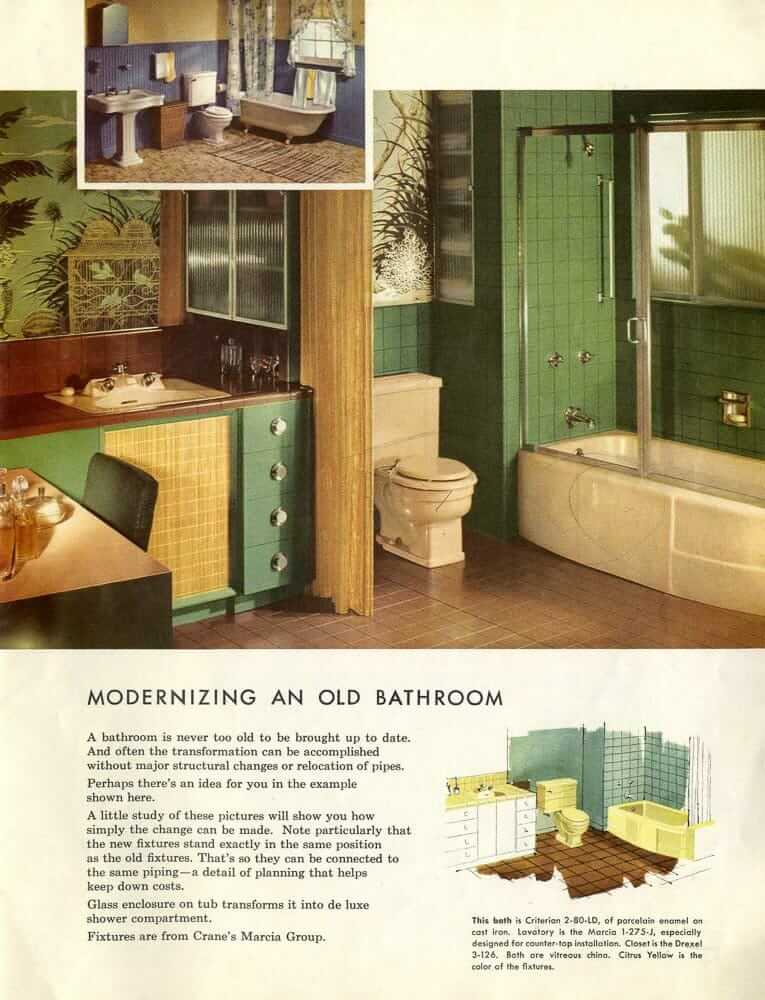 Crane Vintage Bathrooms Sinks Tubs And Toilets Catalog
