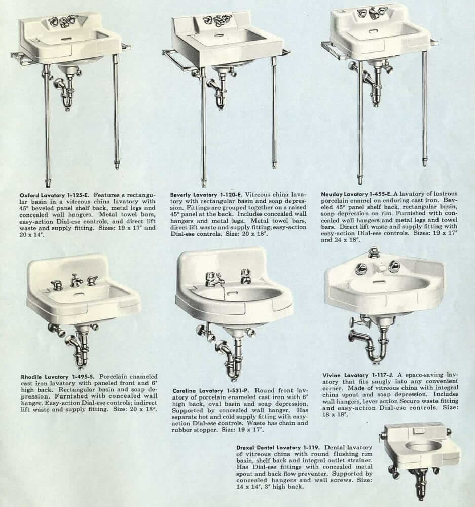 Crane Vintage Bathrooms Sinks Tubs And Toilets Catalog